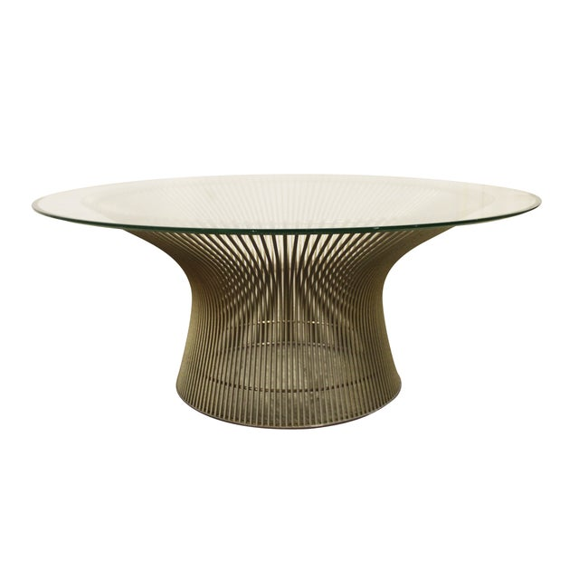 Warren Platner For Knoll Mid Century Coffee Table Chairish