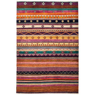 "Lori, Hand Knotted Area Rug - 4'2"" X 6'1"""