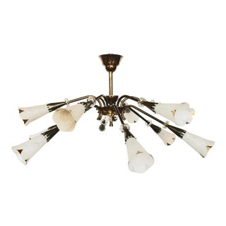 ROYAL LUMIERES 12 Lights Flush Mount