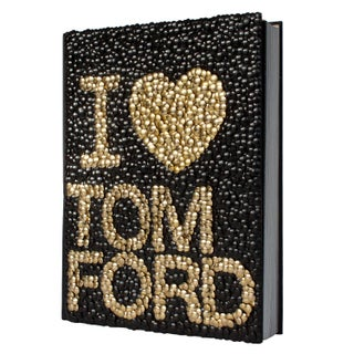 Brass Adorned Tom Ford Book by Brian Stanziale