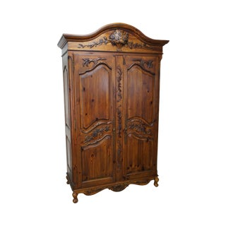 "Ethan Allen ""Legacy"" Collection French Country Armoire"