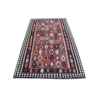 Antique Persian Gaghaie Kilim Rug - 4′9″ × 7′11
