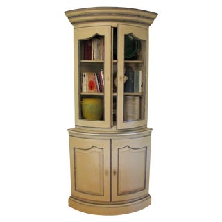French Style Corner Cabinet