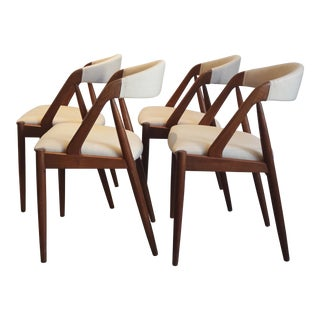 Kai Kristiansen Dining Chairs - Set of 4