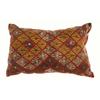 Vintage Handwoven Turkish Kilim Pillow