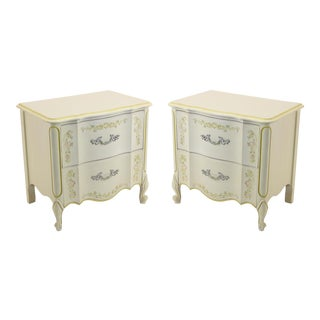 Henry Link Vintage French Provincial Style Nightstands- A Pair