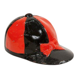 Red & Black Jockey Cap Bottle Opener