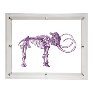 Mitchell Black Home Acrylic Framed Tusk Art Print