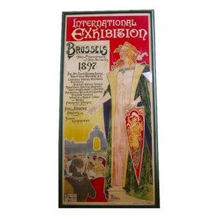 Art Nouveau Poster by Privat-Livemont circa 1896