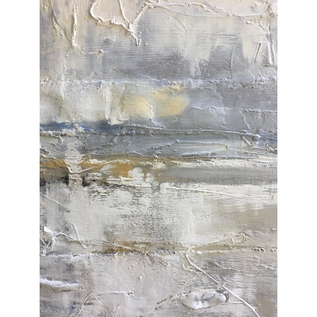 Obscured Horizon Mixed Media Painting - Image 4 of 6