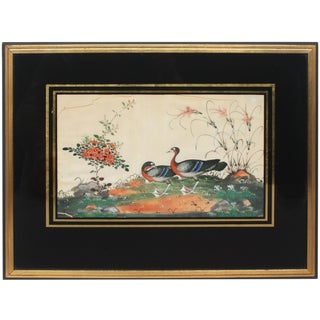 Late 18th/Early 19th Century Chinese Painting on Silk