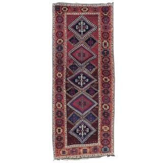 Antique Kurdish Long Rug