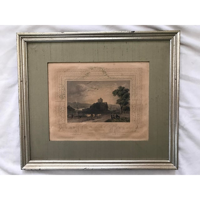 Image of Antique Framed Prints by William Tombleson - Set of 4