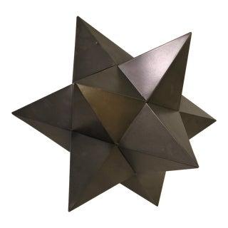 Tin Metal Geometric Star