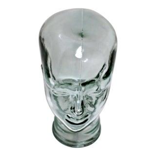 Sculptural Glass Head Figure