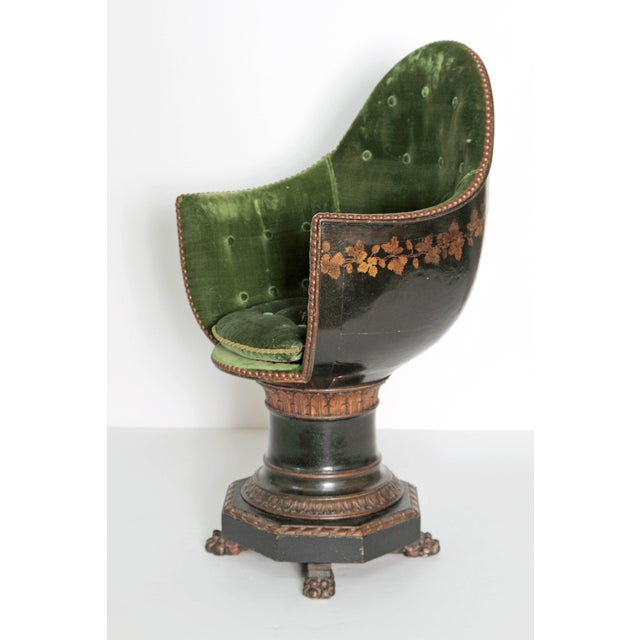 A Nineteenth Century Venetian Child's Gondola Chair - Image 2 of 11