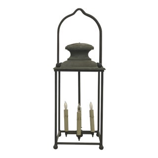 Early 20th Century Copper and Iron Lantern