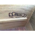 Image of White Fine Furniture Nine-Drawer Credenza