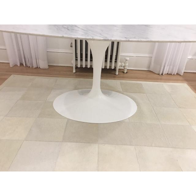 Knoll & Eero Saarinen White Dining Table - Image 7 of 11