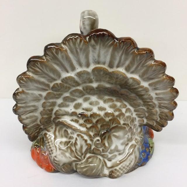 Vintage Ceramic Turkey Planter - Image 5 of 11