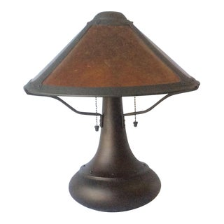 Micah Lamp Company Coppersmith #006 Onion Table Lamp by Dirk Van Erp