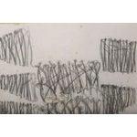 Image of Original Charcoal Bauhaus Style Art