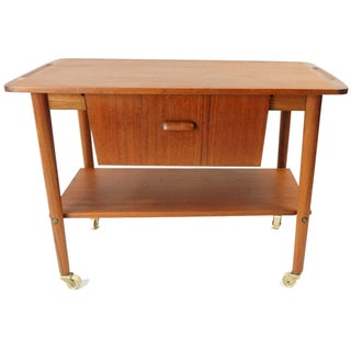 Danish Sewing Table Bar