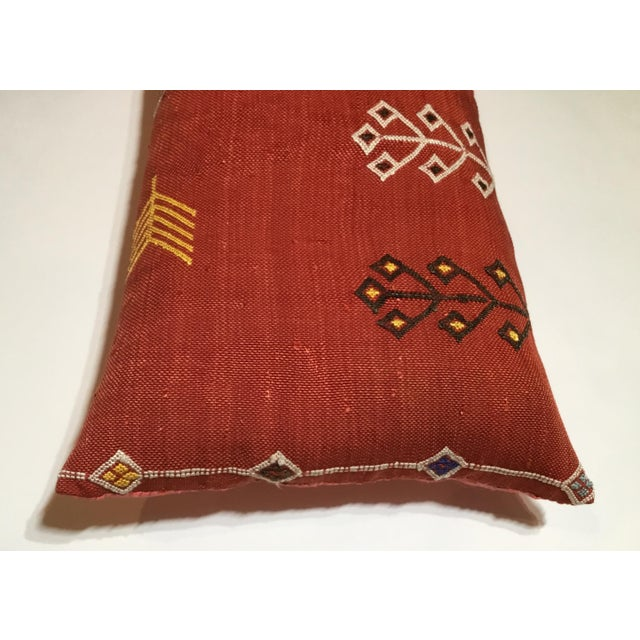 Moroccan Cactus Silk Pillow - Image 5 of 10