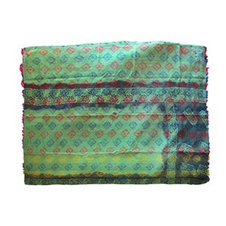 Vintage Indian Sari Quilt