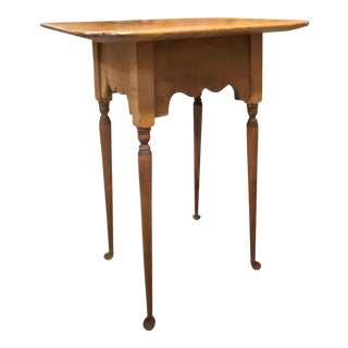 New England Reproduction Chippendale Side Tables - A Pair
