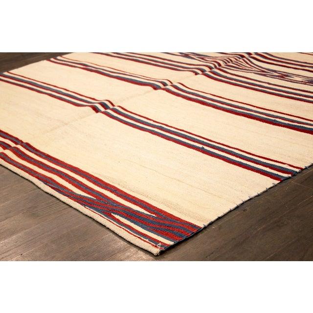Apadana - Vintage Navajo Flatweave Rug - 5' x 8' - Image 2 of 2