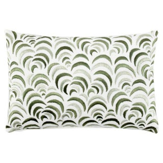 John Robshaw Embroidered Lumbar Pillow