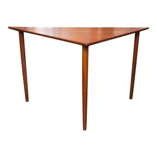 Danish Modern Teak Triangle Table
