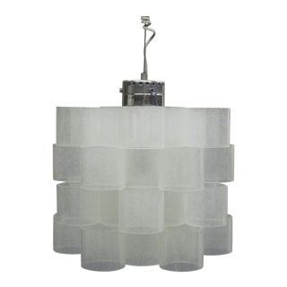 Italian Plexiglass Pendant / Suspension Fixture