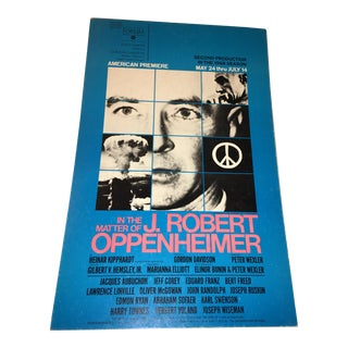 In the Matter of J. Robert Oppenheimer Poster
