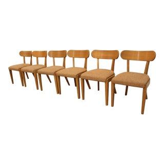 Mid-Century Modern Danish Birch Dining Chairs - Set of 6