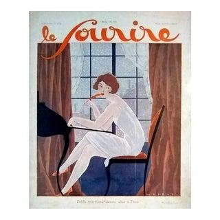 "Fabius Lorenzi 1926 ""Secretary Desk"" Cover Print"