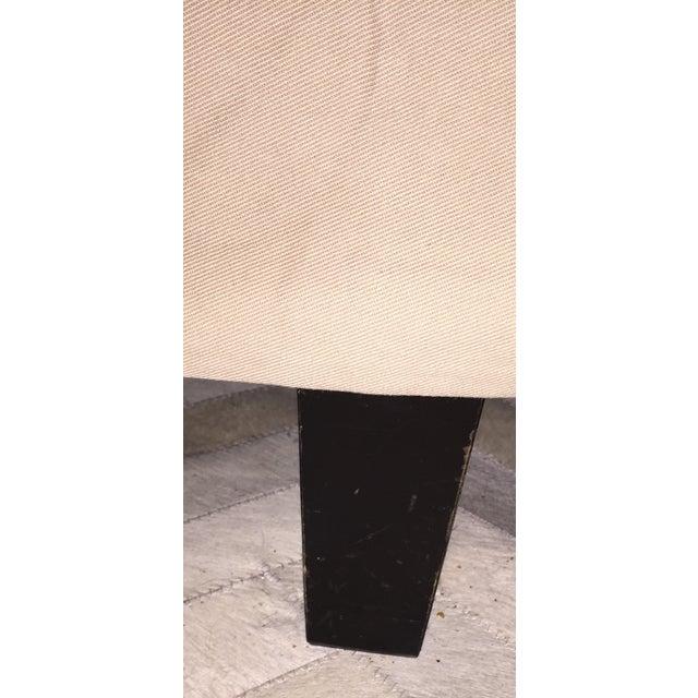Bernhardt Contemporary Tan Slipcovered Sofa - Image 5 of 5