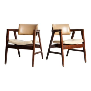 Mid-Century French Armchairs