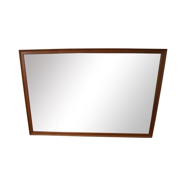 Drexel Declaration Vintage Walnut Wall Mirror - Image 1 of 10