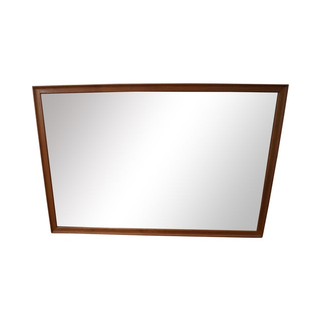 Image of Drexel Declaration Vintage Walnut Wall Mirror