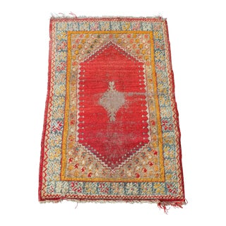 Antique Turkish rug - 3'x4'9""