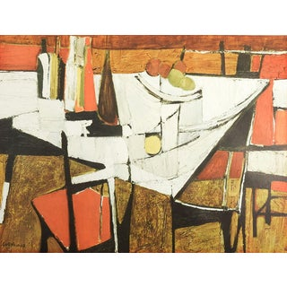Scornavacca Abstract Cubist Print