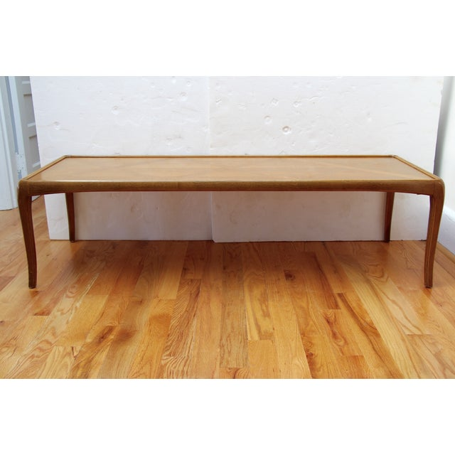 Image of Mid-Century Thomasville Walnut Coffee Table
