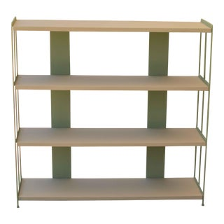 Mid-Century Modern Metal Shelf