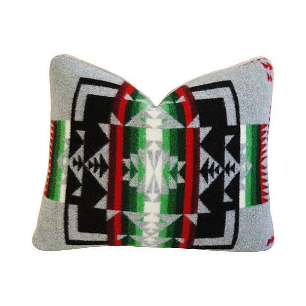 Custom Chief Joseph Pendleton Blanket Pillow - Image 1 of 7