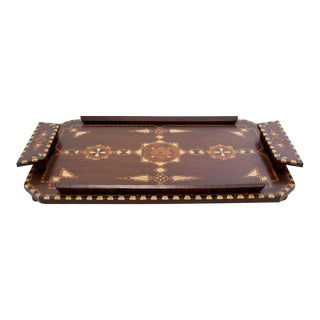 Art Deco Inlaid Tray