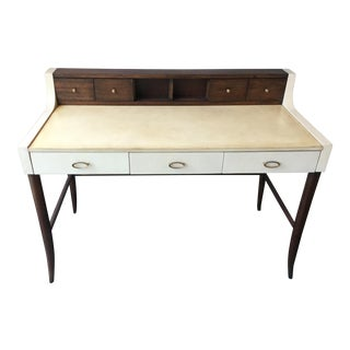Curate Home Ivory Canvas Desk