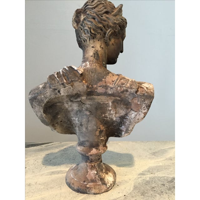 Image of Vintage Classical Concrete Bust