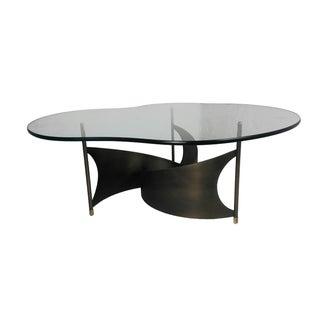 Mid-Century Propeller Base Coffee Table